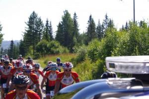 Mange RGSK'ere og Mehl godt skjult bak bilen...